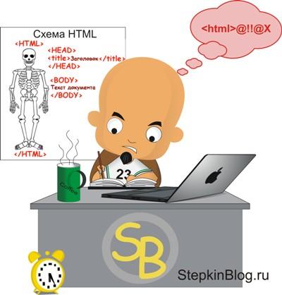 Основы HTML для начинающих – «Моя первая страничка на HTML» . Урок №2