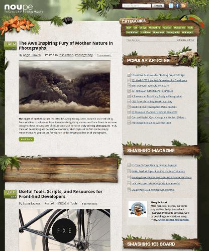 примеры сайтов и блогов сделанных на WordPress