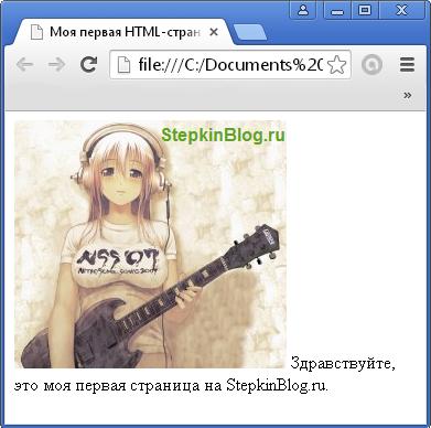 Как вставить картинку в HTML. Основы HTML для начинающих. Урок №5