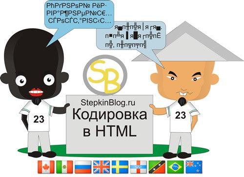 Как указать кодировку сайта на HTML. Основы HTML для начинающих. Урок №20