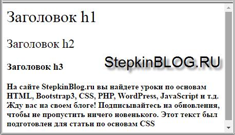 Толщина шрифта в CSS